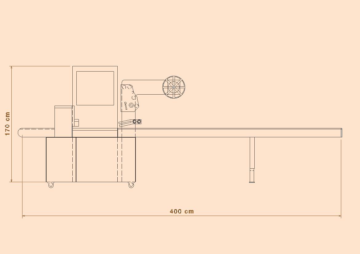 شماتیک دستگاه بسته بندی ژیلت